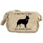 Collie Personalizable I Bark For A Cure Messenger