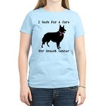 Collie Personalizable I Bark For A Cure Women's Li