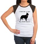 Collie Personalizable I Bark For A Cure Women's Ca