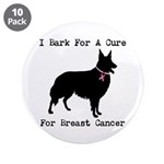 Collie Personalizable I Bark For A Cure 3.5