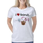 i-love-animals-01 Women's Classic T-Shirt