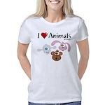 i-love-animals-01 Women's Classic T-Shirt