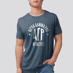 Alpha Gamma Rho Athletics Mens Tri-blend T-Shirt