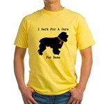 Cocker Spaniel Personalizable I Bark For A Cure Ye