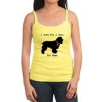 Cocker Spaniel Personalizable I Bark For A Cure Jr