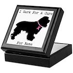 Cocker Spaniel Personalizable I Bark For A Cure Ke