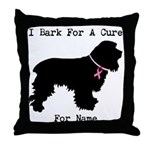Cocker Spaniel Personalizable I Bark For A Cure Th