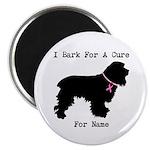 Cocker Spaniel Personalizable I Bark For A Cure Ma