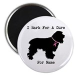 Cocker Spaniel Personalizable I Bark For A Cure 2.