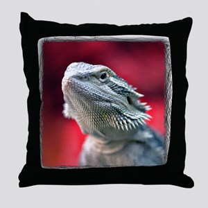 Dragon Head Throw Pillow