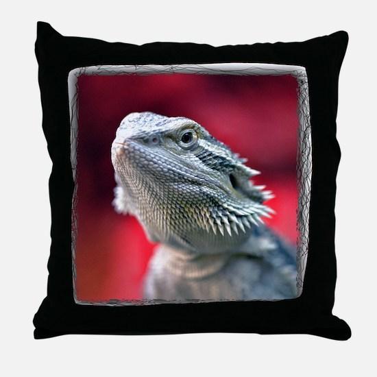 Dragon Head Throw Pillow