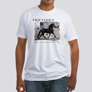 Friesian Crazy Fitted T-Shirt