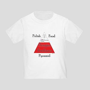 Polish Food Pyramid Toddler T-Shirt