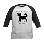 Chihuahua Personalizable I Bark For A Cure Kids Ba