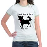 Chihuahua Personalizable I Bark For A Cure Jr. Rin