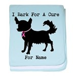 Chihuahua Personalizable I Bark For A Cure baby bl