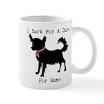 Chihuahua Personalizable I Bark For A Cure Mug