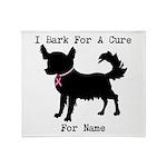 Chihuahua Personalizable I Bark For A Cure Stadiu