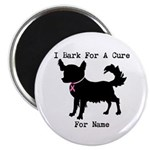 Chihuahua Personalizable I Bark For A Cure 2.25