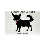 Chihuahua Personalizable I Bark For A Cure Rectang