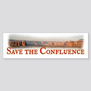 Save the Confluence Sticker (Bumper)