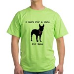 Bull Terrier Personalizable Bark For A Cure Green