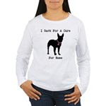 Bull Terrier Personalizable Bark For A Cure Women'