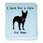 Bull Terrier Personalizable Bark For A Cure baby b