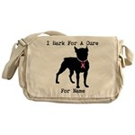 Boston Terrier Personalizable Bark For A Cure Mess