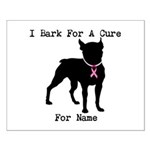Boston Terrier Personalizable Bark For A Cure Smal