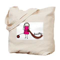Tania Howells for Knitty Tote Bag