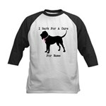 Bloodhound Personalizable Bark For A Cure Kids Bas