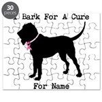 Bloodhound Personalizable Bark For A Cure Puzzle