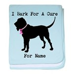 Bloodhound Personalizable Bark For A Cure baby bla