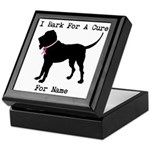Bloodhound Personalizable Bark For A Cure Keepsake