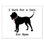 Bloodhound Personalizable Bark For A Cure Small Po
