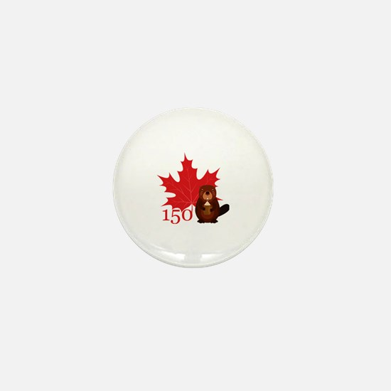 Funny Canadians Mini Button