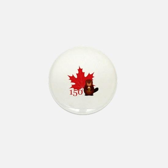 Unique Canada day Mini Button