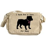 Bulldog Personalizable Bark For A Cure Messenger B