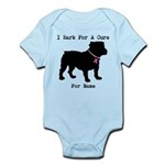 Bulldog Personalizable Bark For A Cure Infant Body