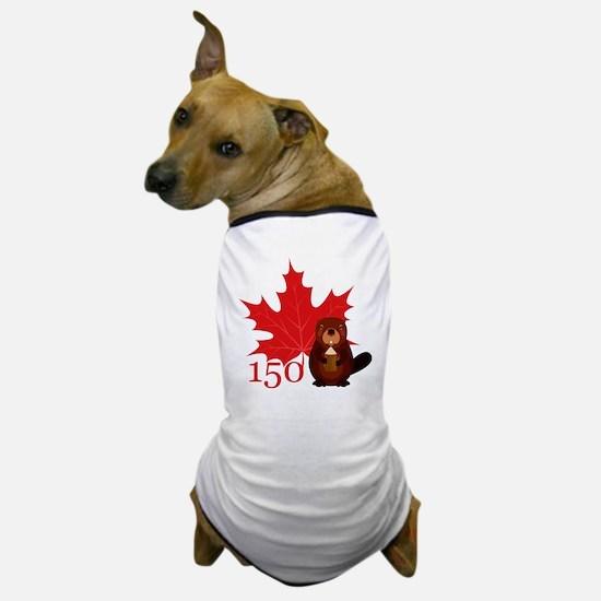 Cool Beaver Dog T-Shirt
