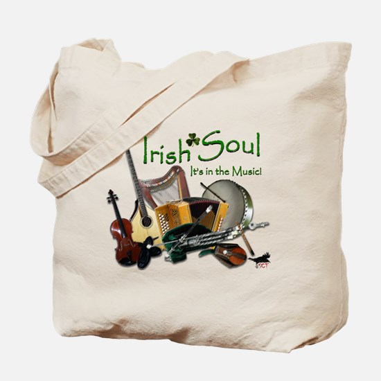 Irish Soul Music Tote Bag