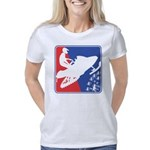 red-White-Blue-Sled Women's Classic T-Shirt