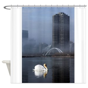 Swan Lake Shower Curtains