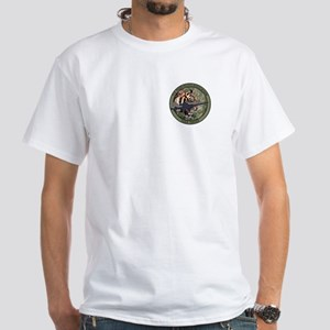 TIGER DRIVER White T-Shirt