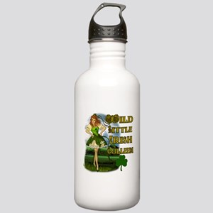 Wild Little Irish Colleen Stainless Water Bottle 1