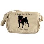 Pug Personalizable Bark For A Messenger Bag