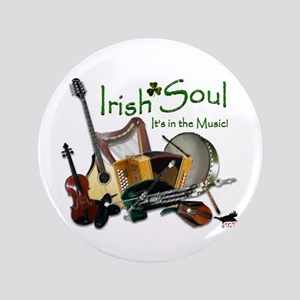 "Irish Soul Music 3.5"" Button"