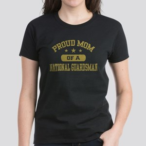 Proud Mom of a National Guardsman Women's Dark T-S
