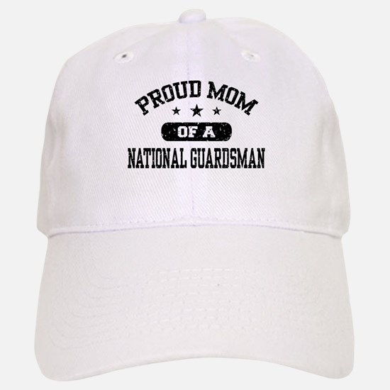 Proud Mom of a National Guardsman Baseball Baseball Cap